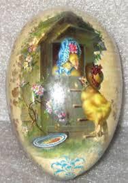 vintage paper mache easter eggs vintage paper mache easter egg 3x2 5 easter bonnet