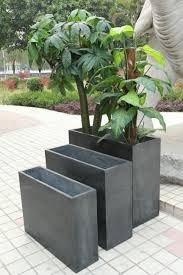 pots modern large planters planter mid century outdoor plant
