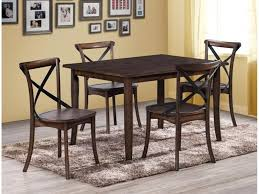 30 x 48 dining table farris rectangle 5 piece dinette table and 4 chairs 549 00 table 36