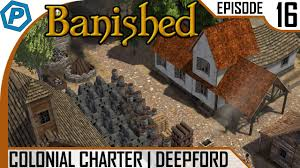 farm u0026 house planning banished colonial charter 16 youtube