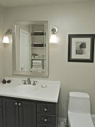 bathroom cabinets fascinating bathroom mirrors with lights above