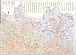 Mt Everest Map Everest Trekking Guidebooks And External Links