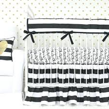 Black And White Crib Bedding Sets Black And White Crib Bedding Set