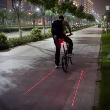brightest bicycle tail light bicycle lane laser tail light