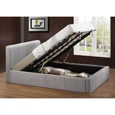 Ottoman Storage Bed Frame by Birlea Brooklyn Grey Ottoman 150cm King Size Bed Frame Bedroom