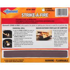 diamond strike a fire fire starters 48 ct box walmart com