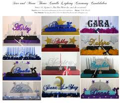 rock star themed sweet 16 decorations quinceanera star themes