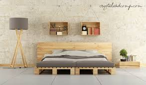 Wooden Pallet Furniture Bed Frames Handmade Pallet Furniture For Sale How To Make A