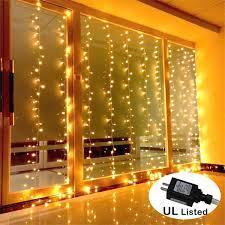 amars safe voltage bedroom string led curtain lights waterfall