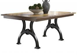 liberty furniture arlington house trestle table in cobblestone