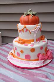 best 25 pumpkin birthday cakes ideas on pinterest girls 1st