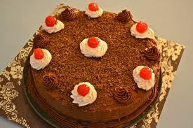 oishii treats black forest cake