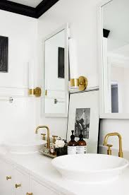Gold Bathroom Fixtures Design Crush Brushed Gold Bathroom Fixtures Livvyland