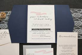 wedding invitations quincy il navy and blush wedding invitation rustic wedding invite