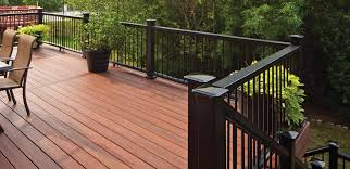 Decking Kits With Handrails Outdoor Fiberon Railing Fiberon Railings Lowes Handrails