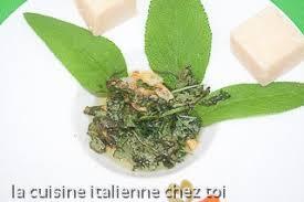 sauge en cuisine recette sauce cuisine traditonnelle lombarde pour pâtes farcies et