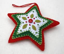 Decorate Your Own Christmas Ornament Kit by Best 25 Embroidered Christmas Ornaments Ideas On Pinterest Felt