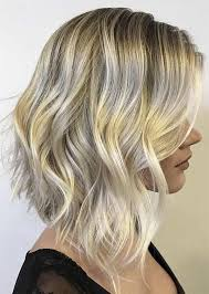 brown and blonde ombre with a line hair cut a line with ombre hair colors for mid length hairstyles 2018