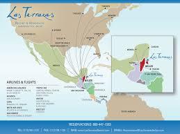 Map Of Roatan Honduras Beachfront Ambergris Caye Belize Hotel Las Terrazas Resort