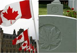 What Leaf Is On The Canadian Flag Sorry Soldiers Who Died For Canada Weren U0027t Citizens Government