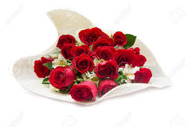 s day roses roses bouquet on white background s day stock photo