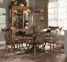 kincaid dining room furniture design center kincaid furniture cherry park seven piece round dining table