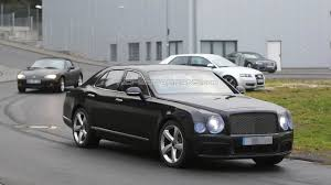 bentley mulsanne facelift spied together with long wheelbase