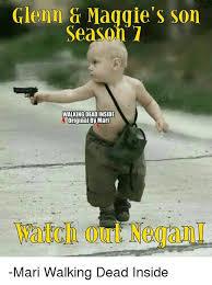 Walking Dead Meme Season 1 - glenn maggie s son season 1 walking dead inside original by maril