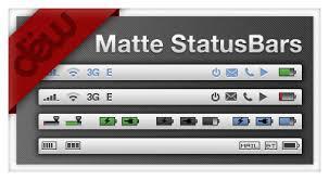 Iphone 5 Top Bar Icons Statusbar Explore Statusbar On Deviantart