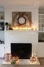 Diy Fireplace Cover Up Painted Brick Fireplace I Swore I Would Never Do It But This