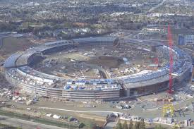 apple u0027s unfinished spaceship campus looks enormous the verge