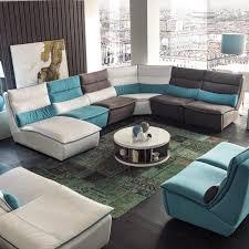 modèle canapé canapé d angle design bi matière tissu et cuir 1722 marseille 13
