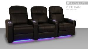 home theater seating platform seatcraft venetian home theater chairs youtube