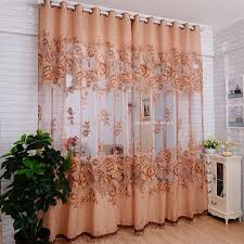 Amazon Living Room Curtains amazon com binmer tm window curtains door curtain mordern room