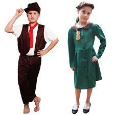 childrens victorian world war 1 u0026 2 evacuee boy fancy dress