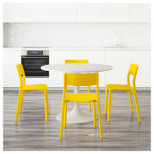 Yellow Kitchen Table And Chairs - docksta janinge table and 4 chairs ikea