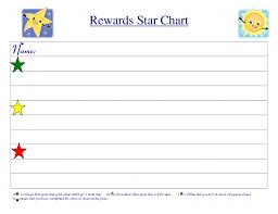 reward chart template kiddo shelter printable reward charts
