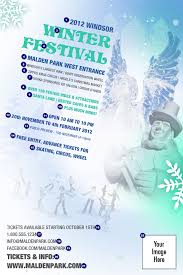 interesting winter festival poster i wrote the copy for this one