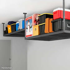 14 products maximize your garage ceiling storage family handyman