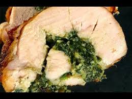 how to make coconut creamed spinach stuffed turkey breast the