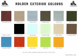 1971 holden paint charts and color codes