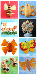 peanut butter cracker butterflies cute and easy food crafts for kids