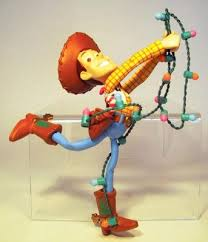 woody tangled up in lights ornament grolier from our