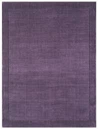 Purple Runner Rugs York Purple Rugs And Runners Plain Wool Range From Only 33