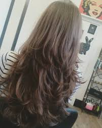 haircuts in layers appealing medium length girl haircuts layer cutting hairstyle in