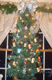 this is the christmas tree in our wet bar we bought lots of mini