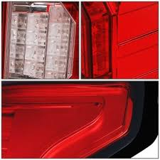 2015 ford f150 tail lights ford f150 2015 2017 red led tail lights outline a135yhgy109