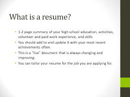 paid resume cover letter resume and references ppt video online download
