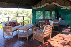 tent deck luxury tent camping in portugal