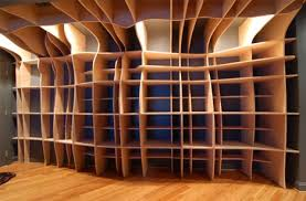 Free Built In Bookcase Woodworking Plans by Laser Cutting Edge Custom Built In Wood Wall Shelves